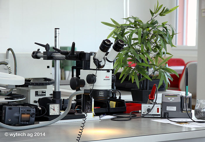 Stereomikroskop-Arbeitsplätze
