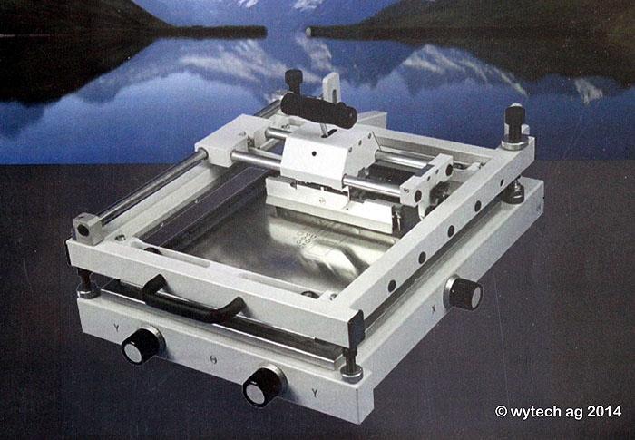Zinnpastendrucker