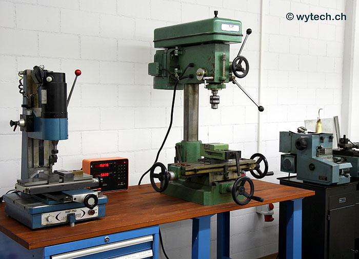 Dreh- Bohr- und Fräsmaschinen